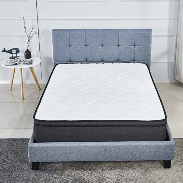 Dream plush mattress is designed with Natural Latex and individual packed wrapped coils for support. Quilt foam gives that soft, cozy comfort