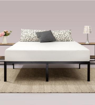 Premium Signature Platform Steel Minimalist Bed Frame | Comfort Living