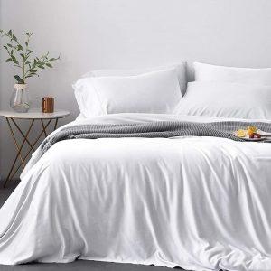 Premium Signature Luxury Bamboo Duvet Cover | 100% Natural Organic. comfort living