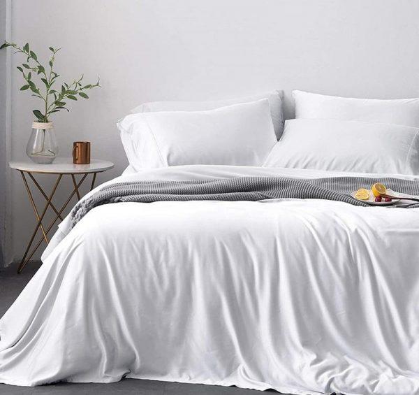Premium Signature Luxury Bamboo Duvet Cover   100% Natural Organic. comfort living
