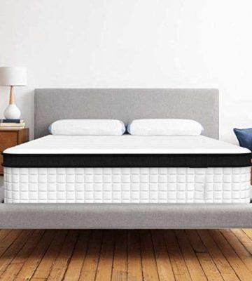 King Size Premium CoolTech Gel Memory Spring Mattress | Comfort Living