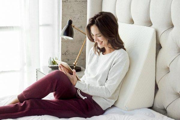 Visco Elastic Memory Foam | Memory Wedge Pillow | Comfort LivingPH